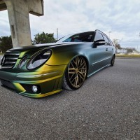 Mercedes E350 AXEWHEELS EX30-as felni