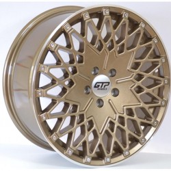 "GTP 048 alufelni 19"" arany polír, bronz polír"
